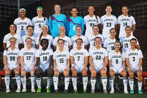 Lesley Women's Soccer Team 2014