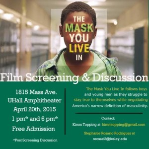 MaskYouLiveIn Screening